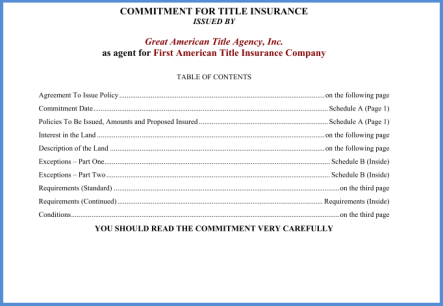 Title Insurance - What is it?