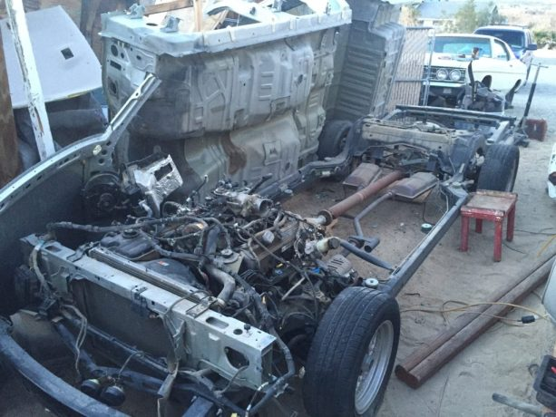 Project Redneck Ep 2 Crown Vic Frame Swap with 68 Mercury Montego