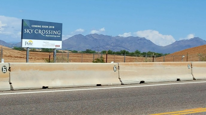 Sky Crossing subdivision, near Desert Ridge on Deer Valley Rd
