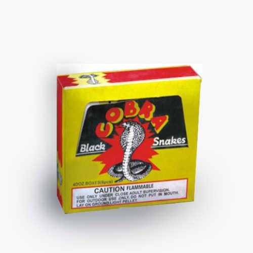 Black Cobra Snake Fireworks
