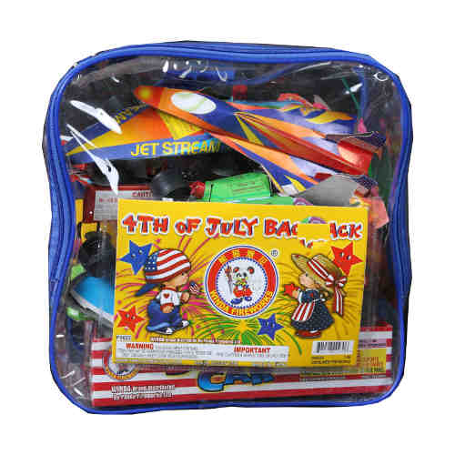 4th if July Back Pack Kids Combo Pack
