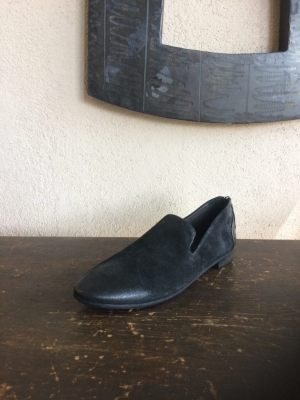 Marsell Back Zip Loafer Nero