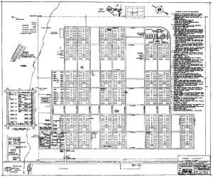 map of Manzanar
