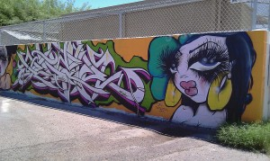 Untitled Graffiti In Phoenix
