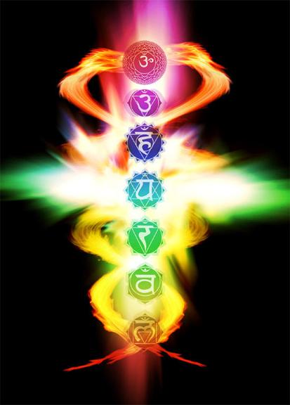 Human Chakra System Intuitive Integrative Healing Art