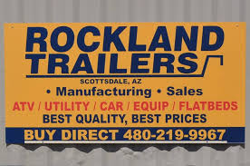 Rockland Trailers sign