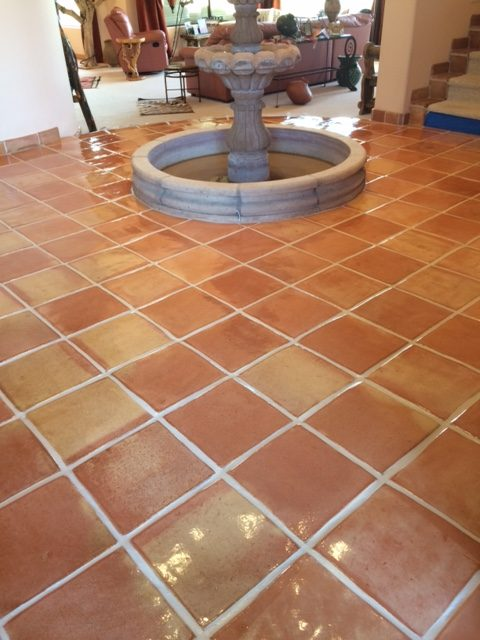 mexican tile cleaning desert tile