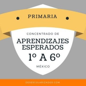 Aprendizajes esperados primaria México