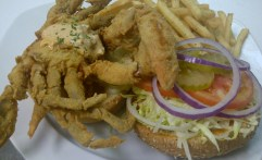Softshell Crab Sandwich