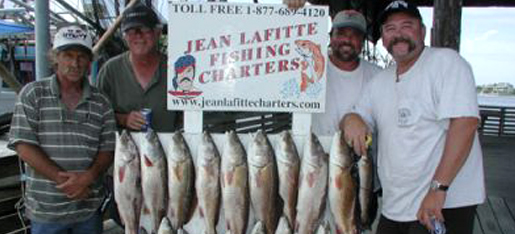 Jean Lafitte Fishing Charters