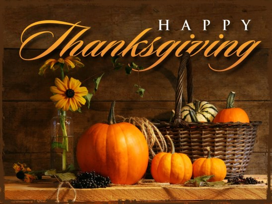 Thanksgiving Day 2014 – Thursday, November 27th