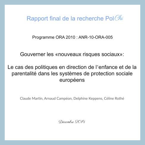 Rapport ANR ORA PolChi 2014 nouveaux risques sociaux