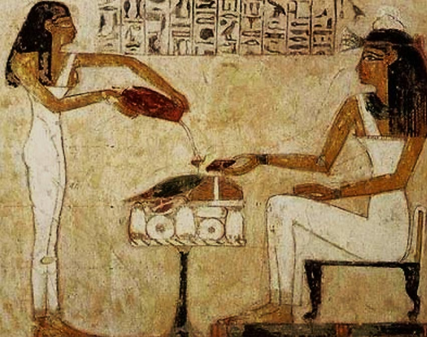 Egyptian-woman-painting_Beer