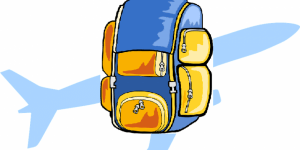 en voyage ... dans mon sac à dos