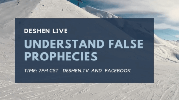 Understanding false prophecies showing a beach