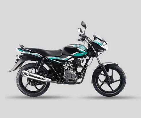 Bajaj Discover 100 Black Green