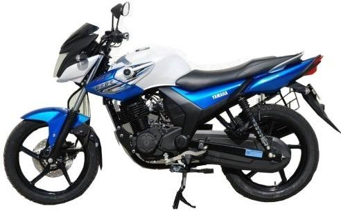 Yamaha SZ-RR V2 Ivory White