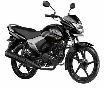 Yamaha Saluto 125 Brave black