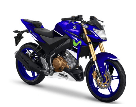 Yamaha Vixion blue