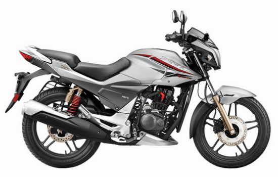 Hero Xtreme sports Mercuric Silver
