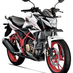 Honda CB150R Streetfire White