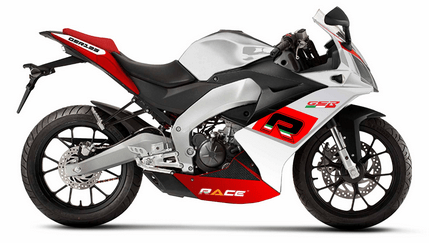 Race GSR 125 White