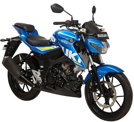 Suzuki GSX-S150 Metallic Triton Blue