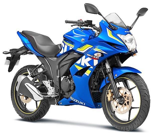 Suzuki Gixxer SF Metallic Triton Blue