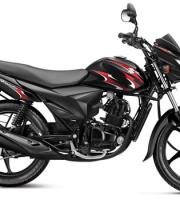 Suzuki Hayate black with Red Graphics