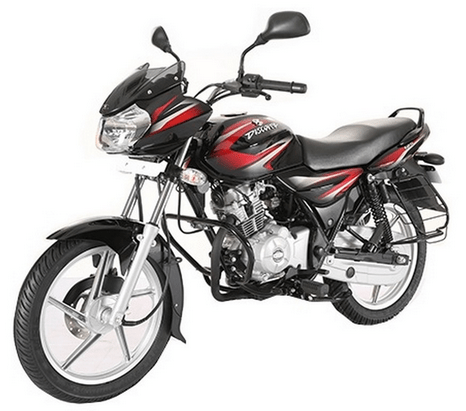 Bajaj Discover 125 Black & Red