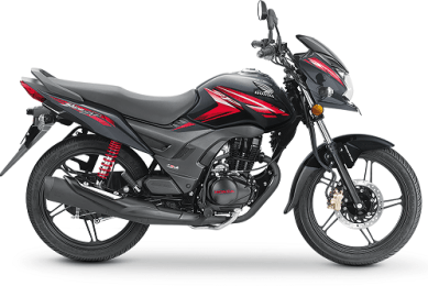 Honda CB Shine Black Red