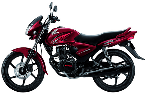 Honda CB Shine Red