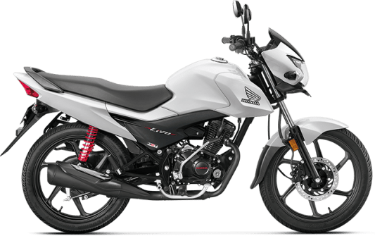 Honda Livo 110 BS4 White