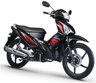 Honda Wave Alpha black
