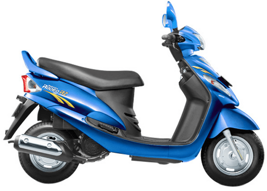 Mahindra Rodeo RZ Blue