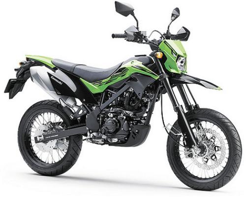 Kawasaki D-Tracker 150 Green