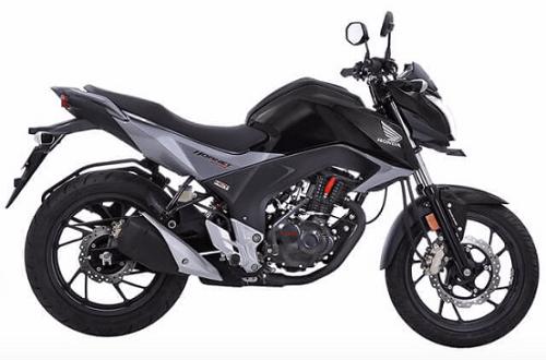 Honda CB Hornet 160R Black