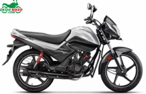Hero Splendor iSmart 110 Silver and Black