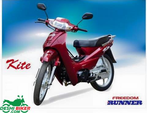 Freedom Runner Kite Red