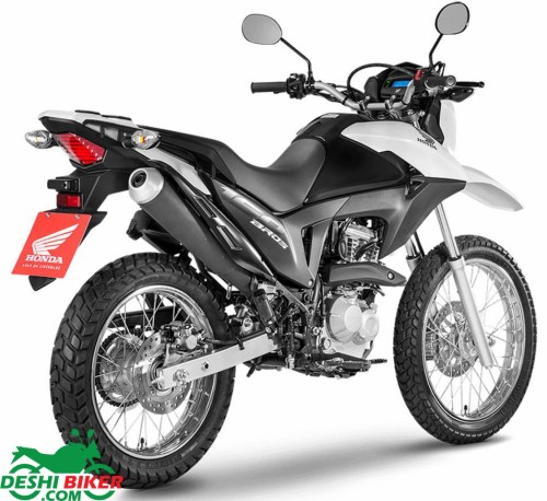 Honda NXR 160 Bros Black & White
