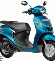 Yamaha Fascino Blue
