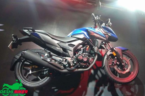 Honda xBlade 160 Red Blue