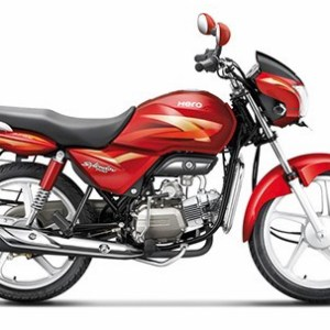 Hero Splendor Pro Candy Blazing Red