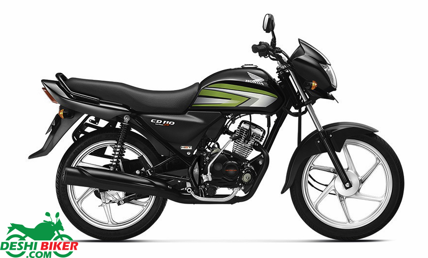Honda CD110 Dream DX Black & Green