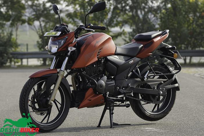 TVS Apache RTR 4V 200