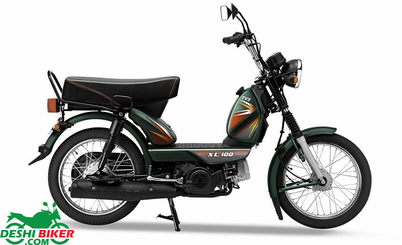 TVS XL 100 Comfort Green