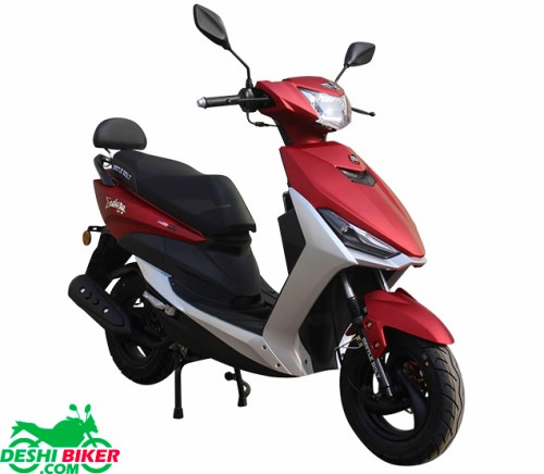 Beetle Bolt Endura 80cc Matt red