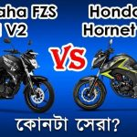 Honda Cb Hornet 160r Vs Yamaha Fzs Fi V2 Comparison Review