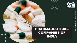 Pharmaceutical Companies of India