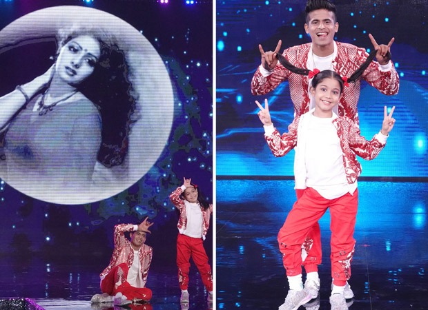 Contestant Florina and super guru Tushar Shetty pay special tribute to legendary actress Sridevi on Super Dancer – Chapter 4 : Bollywood News